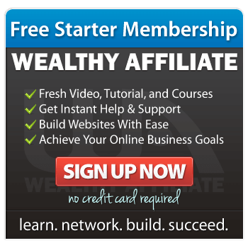 Wealthy Affiliate Free Starter