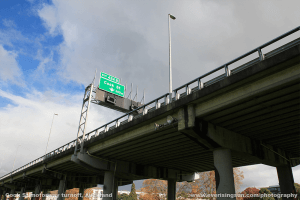 Cook Street Motorway Turn Off, Auckland | Everisingsun Photography